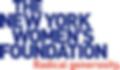The New York Women's Foundaton logo
