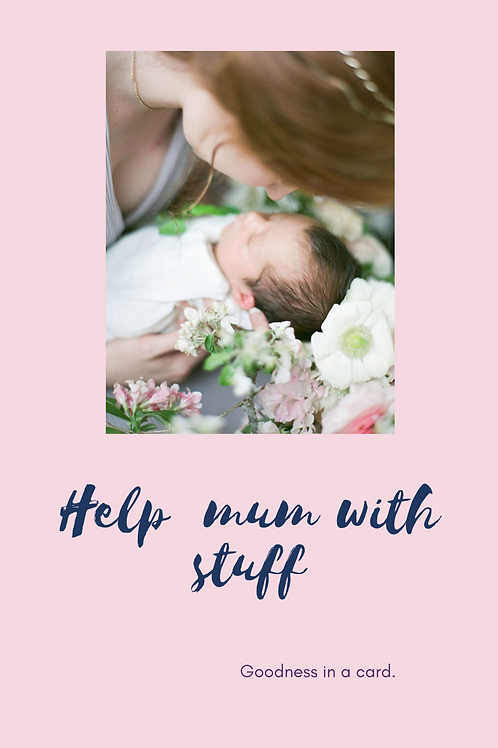 Compassion Gift Card: Help mum with the stuff