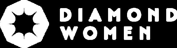Diamond Women - Logo - RGB - White_Horiz