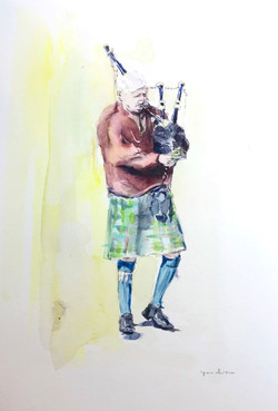 The Pipe Player