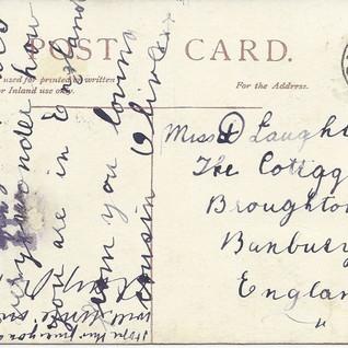 Vintage-postcard-of-St-Bridgets-RC-Churc