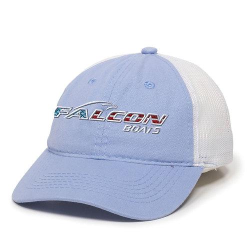 Falcon Flag Hat - Light Blue