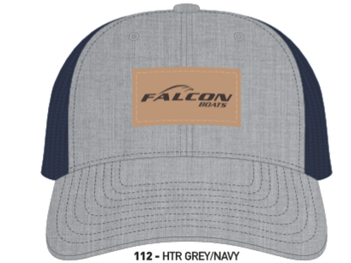 Richardson Logo Leather Patch Hat