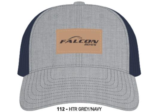 Richardson Logo Leather Patch Hat