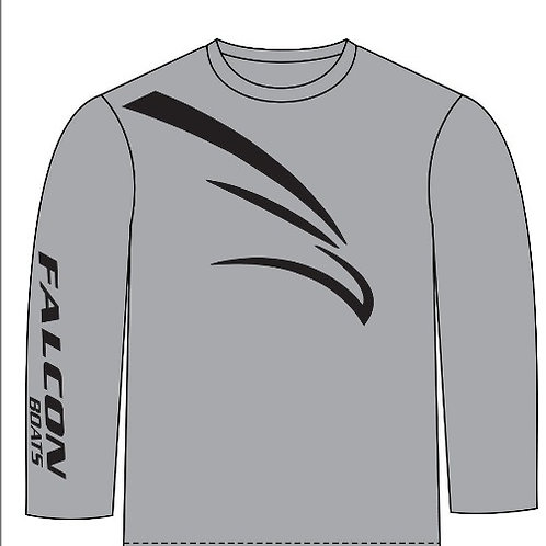 Long-Sleeve T-Bird - Gray/Black