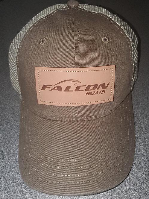 Tan Richardson Leather Patch Hat