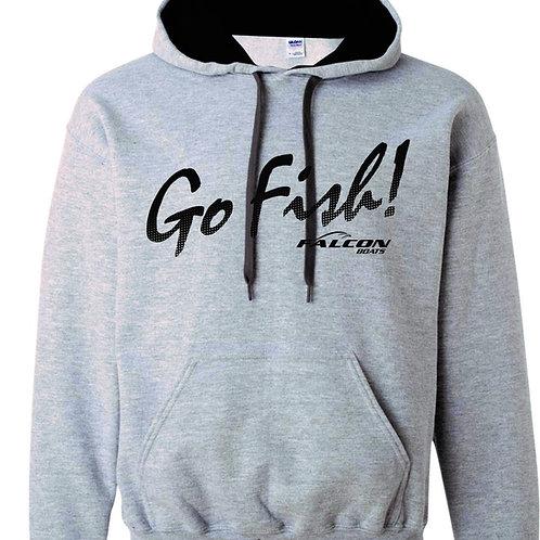 Deluxe Go Fish! Hoodie - Gray