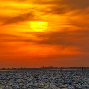 Tampa Bay at sunset