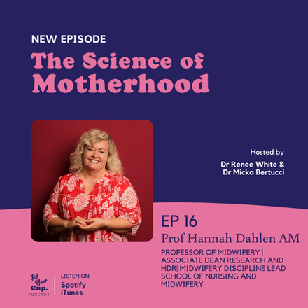 Ep 16. Professor Hannah Dahlen - Coming Soon