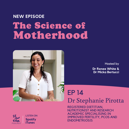 Ep 14. Dr Stephanie Pirotta - Endometriosis, Plans for Conception and Holistic Management