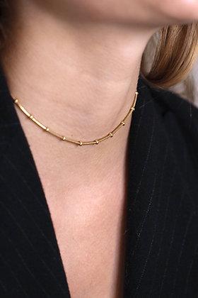 Boa Necklace Gold