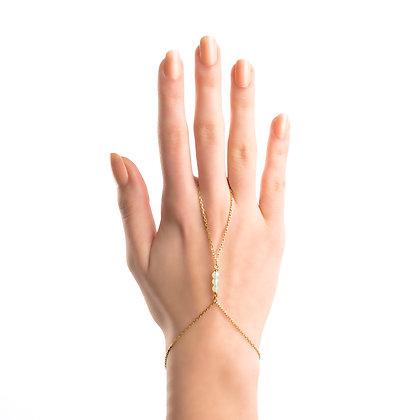 Handchain Opal Gold