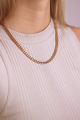Lucia Necklace Rosegold
