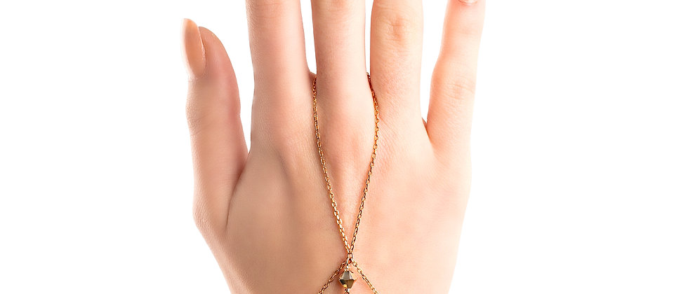 Handflower Rosegold