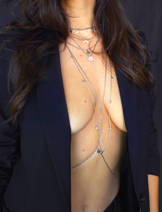 Silver Bodychain, Jewelry