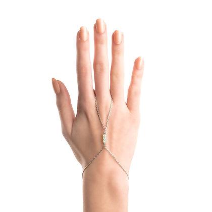 Handchain Opal Silver