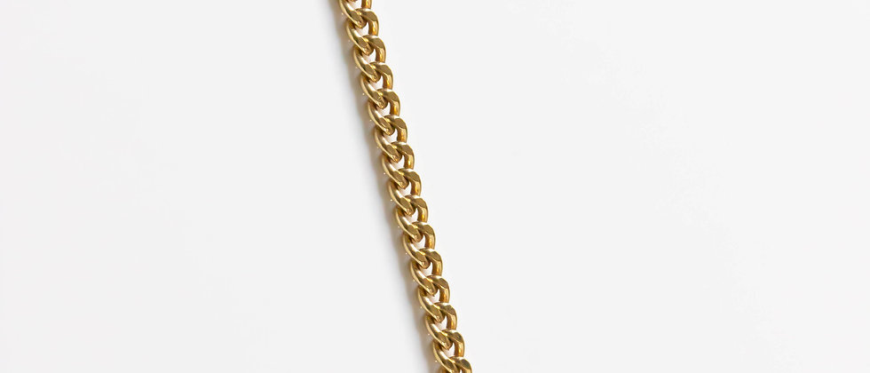 Tank Necklace Gold