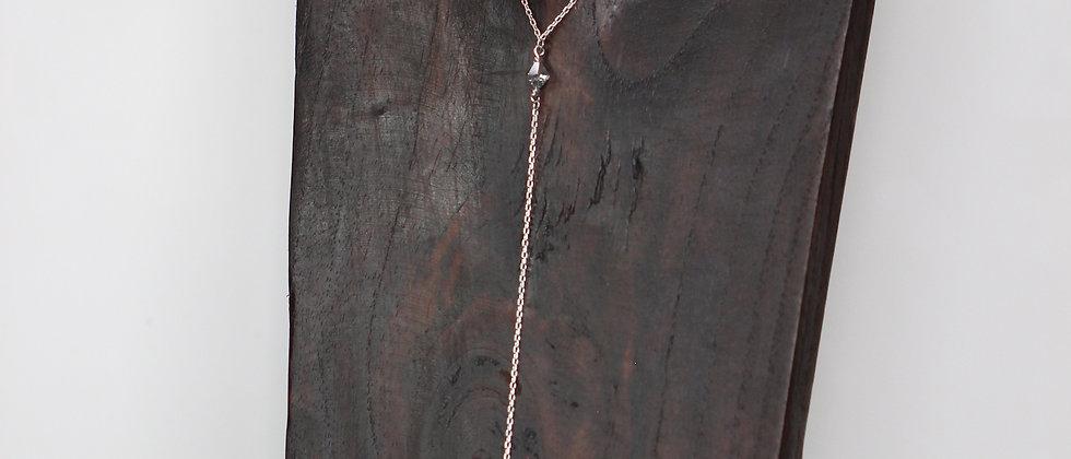 Silver Y-Necklace
