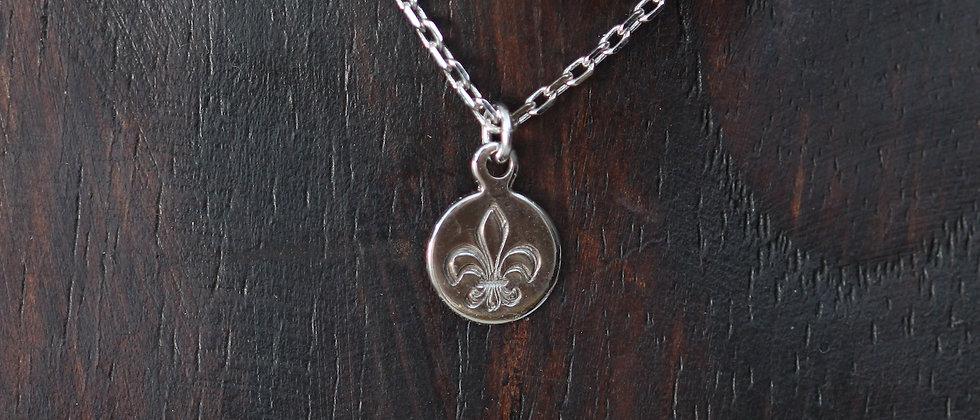 Fleur de Lis Coin