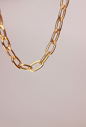 Harley Necklace Gold