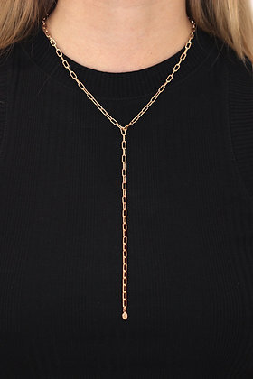 Harley Y-Necklace Rosegold