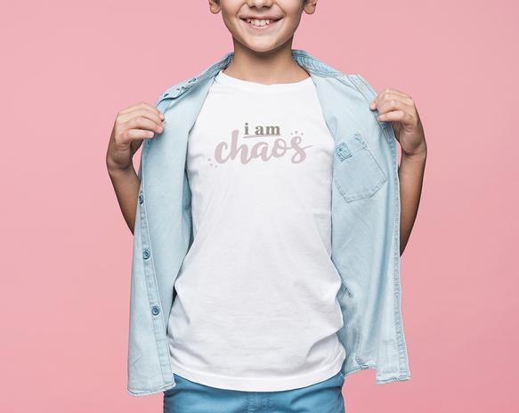 I Am Chaos Kids Tshirt