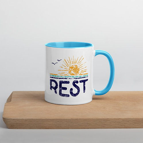 Rest Mug with Color Inside