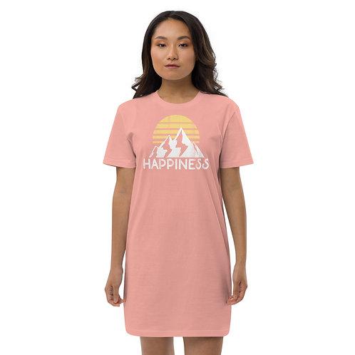 Happiness Organic cotton t-shirt dress