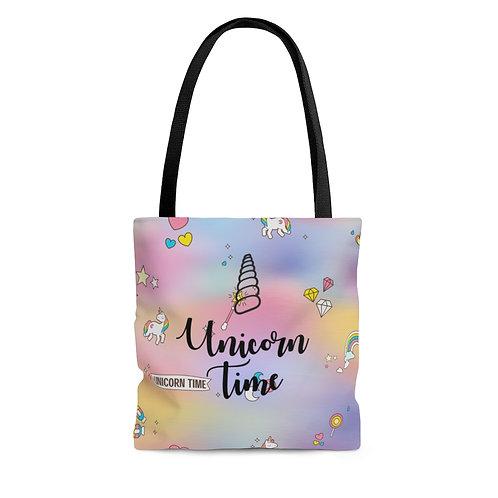 Unicorn Time Tote Bag