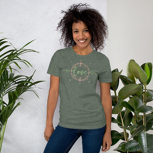 Navigating Love Short Sleeve T-Shirt