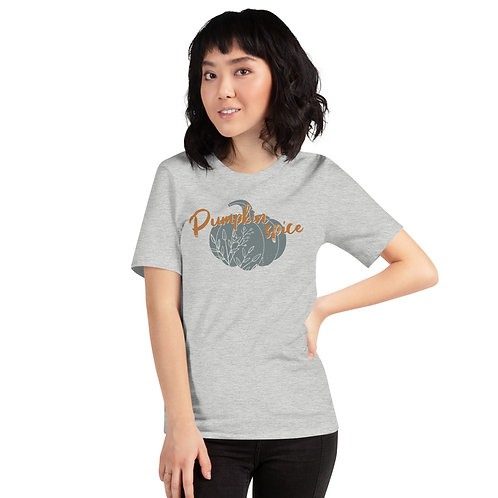 Pumpkin Spice Short-Sleeve Unisex T-Shirt