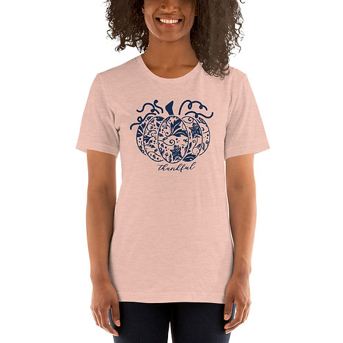 Ornamental Pumpkin Short-Sleeve Unisex T-Shirt
