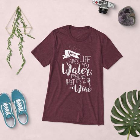 Water To Wine Tshirt