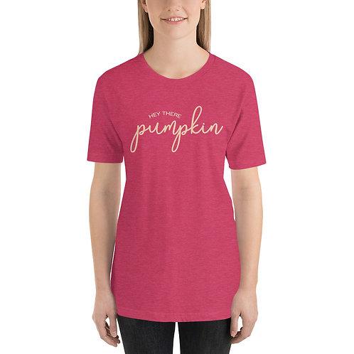 Here There Pumpkin Short-Sleeve Unisex T-Shirt