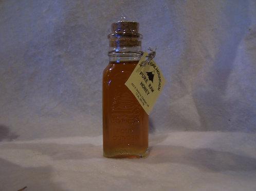 Muth jar - 1/4 pound Raw Wildflower Honey