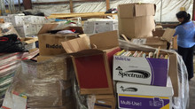 Relief Networks - donated books facing heavy Port charges in Lagos Nigeria - Rescue action invited!