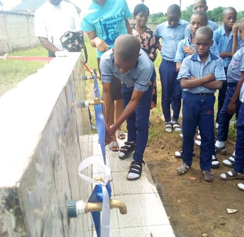 Methodist High School Owerre well completed and dedicated yesterday. Every praise to our G
