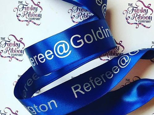 Personalised 38mm Satin Ribbon
