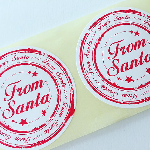 50mm From Santa Stickers