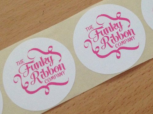 50mm Personalised stickers