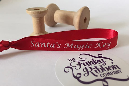 Santas magic key ribbons