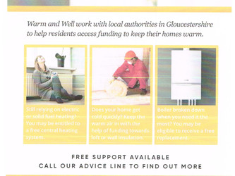 Helping residents to keep warm this winter