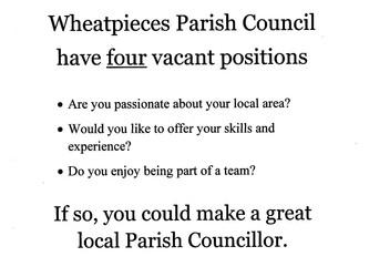 Become a Parish Cllr.