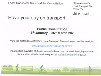 GLOUCESTERSHIRE'S LOCAL TRANSPORT PLAN - Draft for Consultation