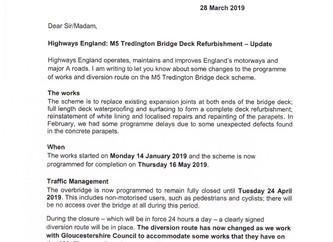 Highways England: M5 Tredington Bridge Deck Refurbishment