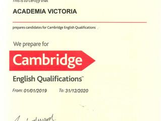 Academia Victoria Centro de preparación de los Exámenes de Cambridge desde 1994