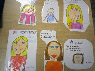 """Otro proyecto de inglés de Jana del grupo172 """"A Portrait"""""""