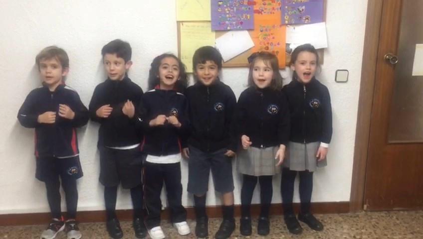 Well done Millán, Nicolás, Jara, Pablo, Nora y Ainhara