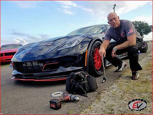 EV shirt_Cajun beside car.jpg