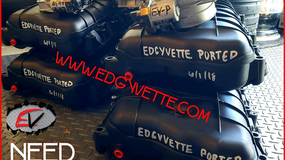 EDGYVETTE INTAKE MANIFOLD PORTING SERVICES - Customer Supplied Core